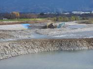 成子河川工事